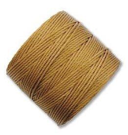 77 YD S-Lon Bead Cord : Gold