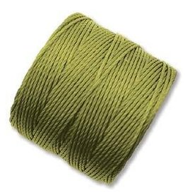 77 YD S-Lon Bead Cord : Chartreuse