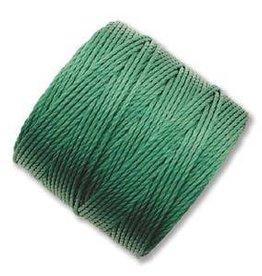 77 YD S-Lon Bead Cord : Green