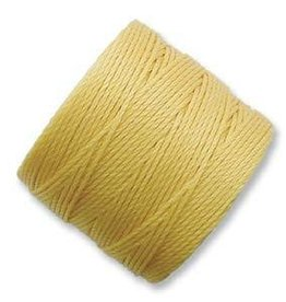 77 YD S-Lon Bead Cord : Golden Yellow