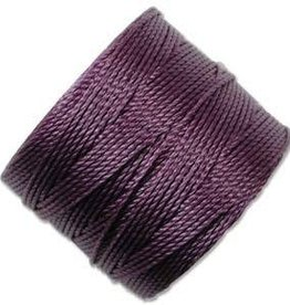 77 YD S-Lon Bead Cord : Medium Purple