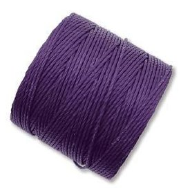 77 YD S-Lon Bead Cord : Purple