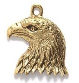 1 PC AGP 24x20mm Eagle Head Charm