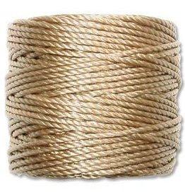 35 YD Tex 400 Heavy Macrame Cord : Light Brown