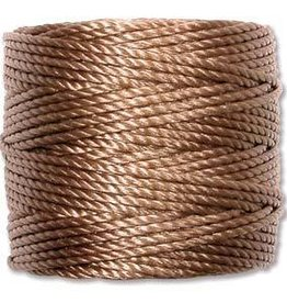 35 YD Tex 400 Heavy Macrame Cord : Medium Brown