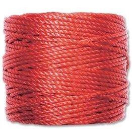 35 YD Tex 400 Heavy Macrame Cord : Shanghai Red
