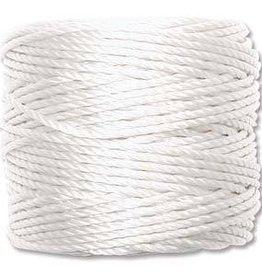 35 YD Tex 400 Heavy Macrame Cord : White