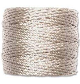 35 YD Tex 400 Heavy Macrame Cord : Light Grey