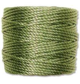 35 YD Tex 400 Heavy Macrame Cord : Avocado