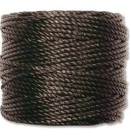 35 YD Tex 400 Heavy Macrame Cord : Black