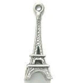1 PC ASP 25x10mm Eiffel Tower Charm