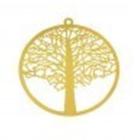 1 PC GP 48mm Tree of Life Pendant