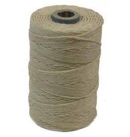 5 YD 4 PLY Irish Waxed Linen : Natural