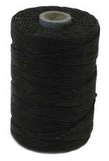 5 YD 7 PLY Irish Waxed Linen : Black