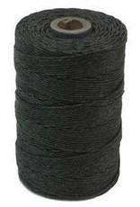 5 YD 4 PLY Irish Waxed Linen : Charcoal