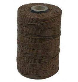 5 YD 4 PLY Irish Waxed Linen : Walnut Brown