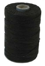 5 YD 4 PLY Irish Waxed Linen : Black