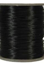 6 YD 3mm Size #2 Rattail : Black