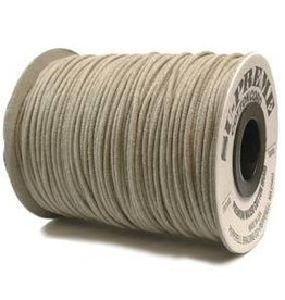 5 YD 2mm Supreme Waxed Cotton : Natural