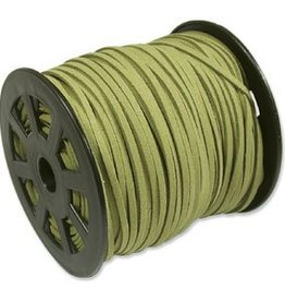 2 YD 3mm Ultra Micro Fiber Suede : Olive