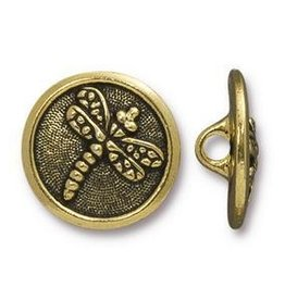 1 PC AGP 17mm Dragonfly Button