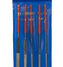 5 PC Diamond Needle File Set
