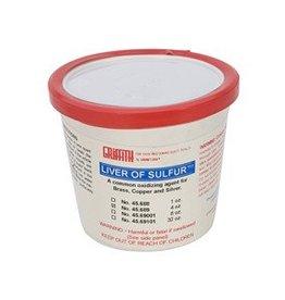 4 OZ Liver of Sulfur Jar