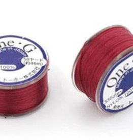 50 YD One-G Thread : Burgundy