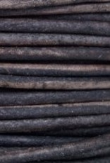 11 YD 1.5mm Leather Cord : Natural Grey