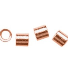 50 PC CP 2x2mm Crimp Tube