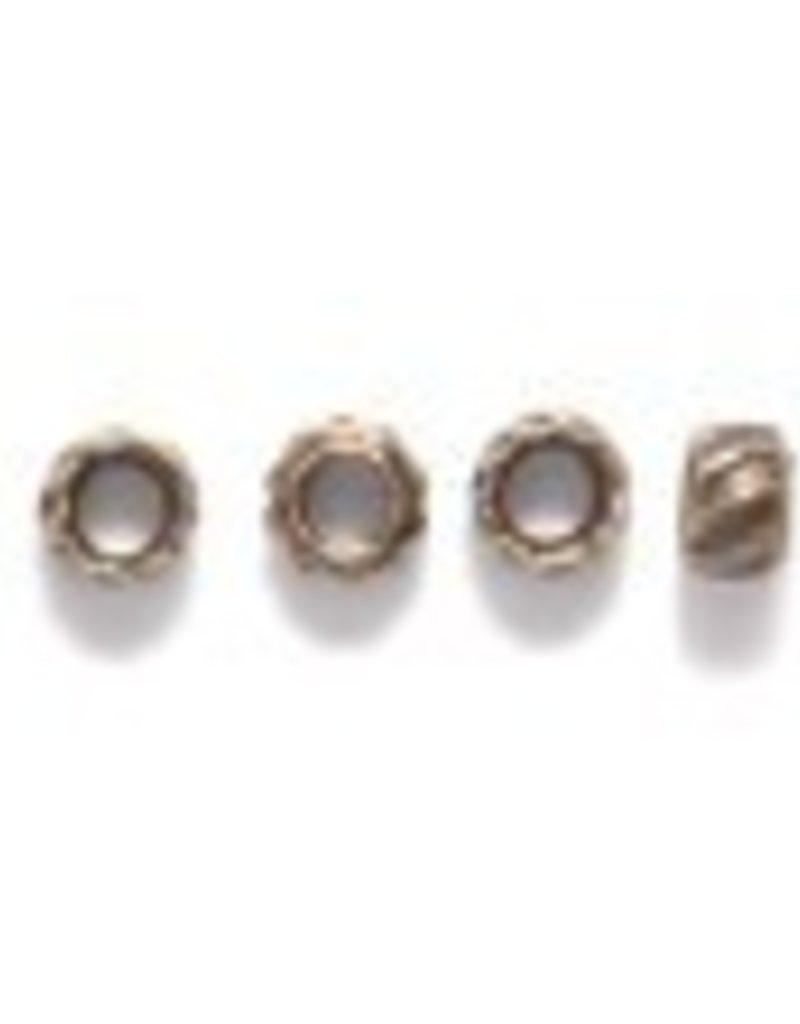 50 PC ABP 2mm Crimp Bead #9 ID 1mm