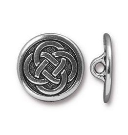 1 PC ASP 16mm Celtic Button ID 2mm Shank
