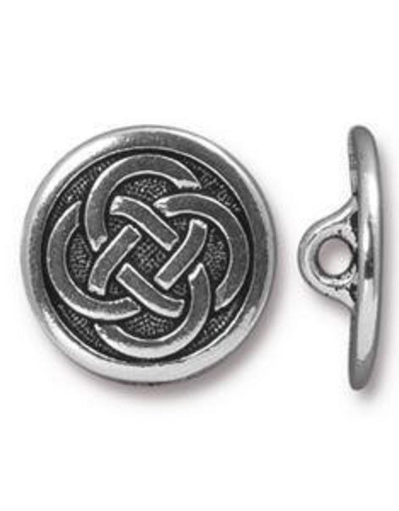 1 PC ASP 16mm Celtic Button ID 2mm Shank