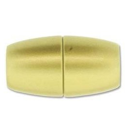 1 PC 17X31mm Gold Matte Acrylic Magnetic Clasp