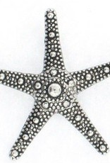 1 PC ASP 37mm Starfish Pendant