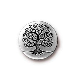 1 PC ASP 16mm Tree of Life Button