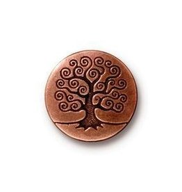 1 PC ACP 16mm Tree of Life Button