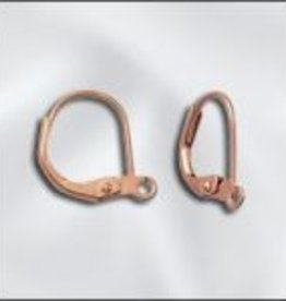12 PC CP 14x11mm Plain Leverback Ear Wire