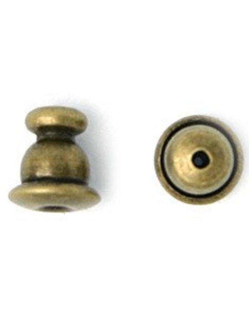 10 PC AGP 5mm Bullet Earring Back