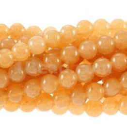 "Red Aventurine : 4mm Round 15.5"" Strand"