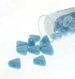 9 GM 6mm Kheops Par Puca : Opaque Turquoise (APX 65 PCS)