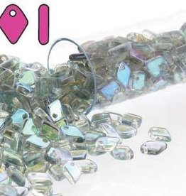 5 GM 1.5x5mm Dragon Scale : Crystal Blue Rainbow (APX 130 PCS)