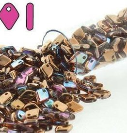 9.5 GM 1.5x5mm Dragon Scale : Crystal Copper Rainbow (APX 260 PCS)