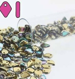 9.5 GM 1.5x5mm Dragon Scale : Crystal Golden Rainbow (APX 260 PCS)