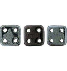 10 GM 6x6mm Quadratile : Luster Metallic Amethyst (APX 80 PCS)