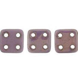 10 GM 6x6mm Quadratile : Luster Opaque Lilac (APX 80 PCS)