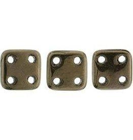 10 GM 6x6mm Quadratile : Dark Bronze (APX 80 PCS)