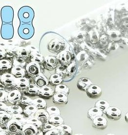 8 GM 3x6mm Infinity Bead : Full Labrador (APX 100 PCS)