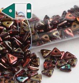 9 GM 4.6x1.3mm Tri Bead : Magic Wine (APX 215 PCS)