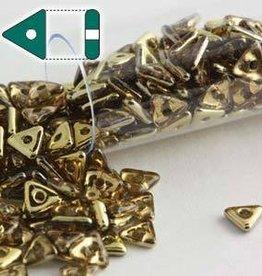 9 GM 4.6x1.3mm Tri Bead : Rosaline Amber (APX 215 PCS)